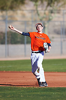 Alex Valastro (48), from Georgetown, Texas, while playing for the Orioles during the Under Armour Baseball Factory Recruiting Classic at Red Mountain Baseball Complex on December 29, 2017 in Mesa, Arizona. (Zachary Lucy/Four Seam Images)