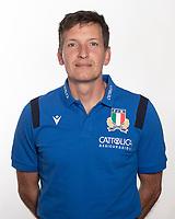 Ritratti Nazionale Italiana Rugby<br /> Photo Antonietta Baldassarre / Insidefoto / Sportit / Federazione Italiana Rugby<br /> 19/10/2020 <br /> Corrado Pilat <br /> Copyright Federazione Italiana Rugby Use of this picture is allowed only previous permission of Federazione Italiana Rugby