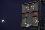 Scoreboard during Real Madrid vs FC Shakhtar Donetsk UEFA Champions League match. October 20,2020.(ALTERPHOTOS/Acero)