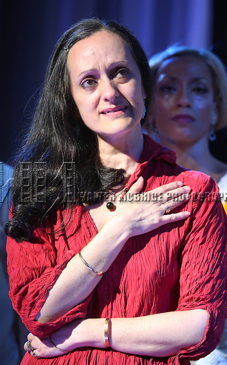 Isabel Toledo during the Final Broadway  Curtain Call for 'After Midnight' at the Brooks Atkinson Theatre on June 29, 2014 in New York City.