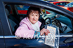 Nora Healy from Ballydesmond at the Christmas Cracker Drive-in Bingo in Castleisland on Sunday.
