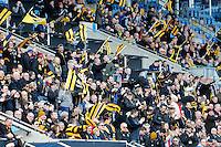 Photo: Richard Lane/Richard Lane Photography. Wasps v Sale Sharks. Aviva Premiership. 20/03/2016. Wasps supporters.