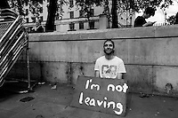 """24.06.2016 - """"Faces From College Green (Part 2), Parliament Sq, WhiteHall"""".<br /> <br /> London, March-July 2016. Reporting the EU Referendum 2016 (Campaign, result and outcomes) observed through the eyes (and the lenses) of an Italian freelance photojournalist (UK and IFJ Press Cards holder) based in the British Capital with no """"press accreditation"""" and no timetable of the main political parties' events in support of the RemaIN Campaign or the Leave the EU Campaign.<br /> On the 23rd of June 2016 the British people voted in the EU Referendum... (Please find the caption on PDF at the beginning of the Reportage).<br /> <br /> For more photos and information about this event please click here: http://lucaneve.photoshelter.com/gallery/Faces-From-College-Green-Part-2-Parliament-Sq-WhiteHall/G0000EdpxLbG0I3k/C0000LiS.GOfEuNk<br /> <br /> For more information about the result please click here: http://www.bbc.co.uk/news/politics/eu_referendum/results"""