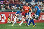 Samoa vs France during the HSBC Hong Kong Rugby Sevens 2016 on 09 April 2016 at Hong Kong Stadium in Hong Kong, China. Photo by Li Man Yuen / Power Sport Images