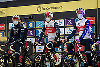 Team Trek-Segafredo team presentation<br /> <br /> 104th Ronde van Vlaanderen 2020 (1.UWT)<br /> 1 day race from Antwerpen to Oudenaarde (BEL/243km) <br /> <br /> ©kramon