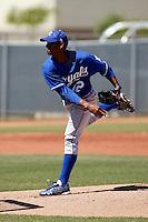 Juan Abreu   -  Kansas City Royals - 2009 extended spring training.Photo by:  Bill Mitchell/Four Seam Images