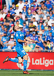 Jorge Molina Vidal of Getafe CF in action during the La Liga 2017-18 match between Getafe CF and Real Madrid at Coliseum Alfonso Perez on 14 October 2017 in Getafe, Spain. Photo by Diego Gonzalez / Power Sport Images