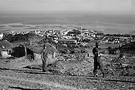 "Ecole Militaire d'Infanterie de Cherchell, Algérie, October 1960. General view of the school from ""Plateau Sud""."