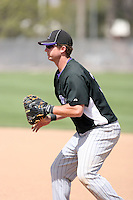 Jared Clark, Colorado Rockies 2010 minor league spring training..Photo by:  Bill Mitchell/Four Seam Images.