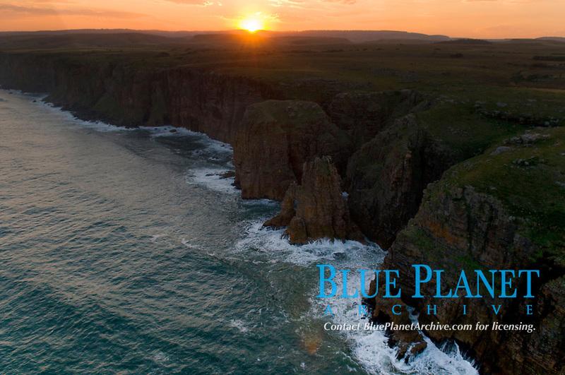 South Africa Sardine Run, Wild coast, aerial adventure, sunset, beach