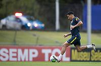 10th November 2020; Granja Comary, Teresopolis, Rio de Janeiro, Brazil; Qatar 2022 qualifiers; Allan of Brazil during training session in Granja Comary