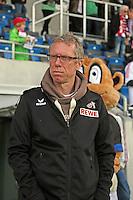 Trainer Peter Stoeger (Koeln) - FSV Frankfurt vs. 1. FC Koeln, Frankfurter Volksbank Stadion