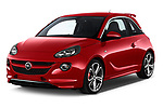 2017 Opel Adam S 3 Door Hatchback angular front stock photos of front three quarter view
