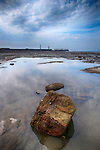 Looking Towards Whitby Harbour, Whitby, North Yorkshire, UK