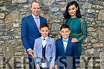 Twins Sean and Ciaran O'Connor from Moyderwell NS receiving their First Holy Communion on Saturday with their parents Pat O'Connor and Catherine Wall.