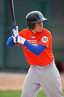 January 16, 2010:  Justin Rose (Riverview, FL) of the Baseball Factory Florida Team during the 2010 Under Armour Pre-Season All-America Tournament at Kino Sports Complex in Tucson, AZ.  Photo By Mike Janes/Four Seam Images