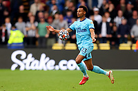 25th September 2021; Vicarge Road, Watford, Herts,  England;  Premier League football, Watford versus Newcastle; Jacob Murphy of Newcastle United