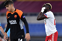 Ali Sowe of PFS CSKA-Sofia reacts during the Europa League Group Stage A football match between AS Roma and CSKA Sofia at stadio olimpico in Roma (Italy), October, 29th, 2020. Photo Andrea Staccioli / Insidefoto