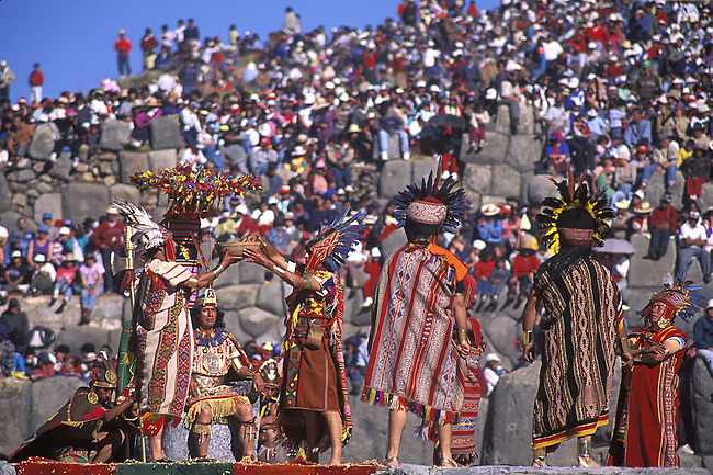 Inti Raymi. Cuzco, Peru