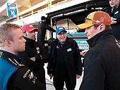 Felix Rosenqvist, Chip Ganassi Racing Honda, Dario Franchitti, Julian Robertson, Scott Dixon, Chip Ganassi Racing Honda