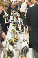 Trade wine tasting UGC Union des Grands Crus, Bordeaux. Bordeaux, France