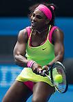Serena Williams (USA) defeats Garbine Murguruza (ESP) 2-6, 6-3, 6-2