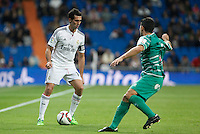 Real Madrid´s Alvaro Arbeloa during Spanish King Cup match between Real Madrid and Cornella at Santiago Bernabeu stadium in Madrid, Spain.December 2, 2014. (NortePhoto/ALTERPHOTOS/Victor Blanco)