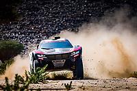 6th January 2021; Wadi Al Dawasir to Riyadh, Saudia Arabia; Dakar 2021 Rally, stage 4;  308 Serradori Mathieu (fra), Lurquin Fabian (bel), Century, SRT Racing, Motul, Auto, action during the 4th stage of the Dakar 2021 between Wadi Al Dawasir and Riyadh, in Saudi Arabia on January 6, 2021