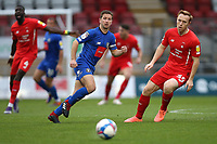 Josh Falkingham of Harrogate Town and Danny Johnson of Leyton Orient during Leyton Orient vs Harrogate Town, Sky Bet EFL League 2 Football at The Breyer Group Stadium on 21st November 2020