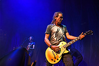LONDON, ENGLAND - SEPTEMBER 10: Jerry De Borg of 'Jesus Jones' performing at The Roundhouse, Camden on September 10, 2021 in London, England.<br /> CAP/MAR<br /> ©MAR/Capital Pictures