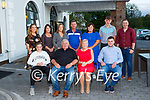 Nora Sheehan Knocknagree celebrated her 60th birthday with her family in the Killarney Oaks Hotel on Saturday night front row l-r: Amy Brosnan, Jer, Nora and Gearoid Sheehan. Back row: Sinead O'Connell, Sinead brosnan, Lorraine Sheehan, John Brosnan, Christine Sheehan, Colin Brosnan and Shane Carey