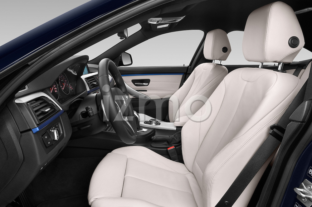 Front seat view of a 2015 BMW SERIES 4 M Sport 2WD AT 5 Door Hatchback 2WD Front Seat car photos