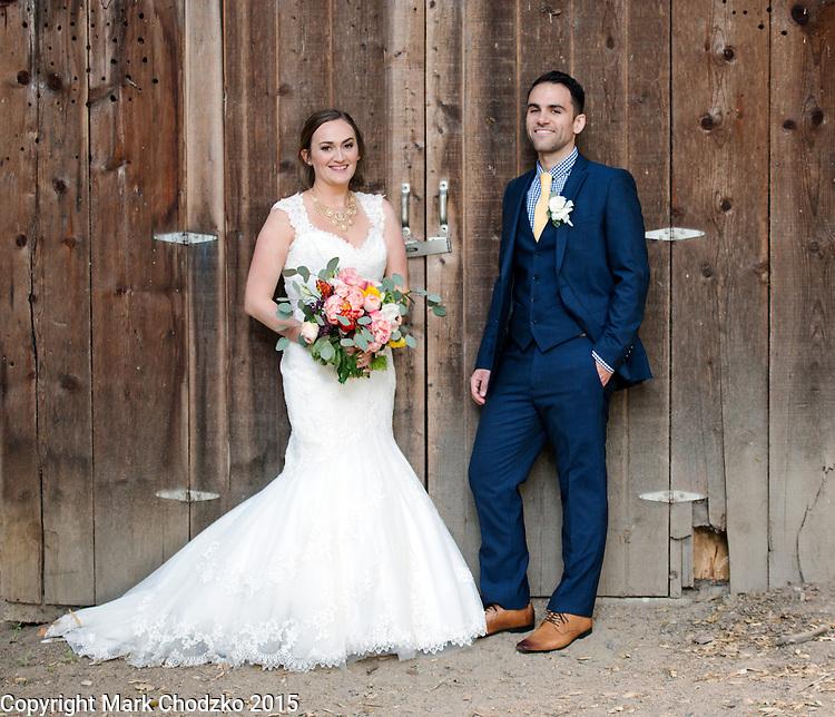 Josh & Lauren at the Temecula Creek Inn.