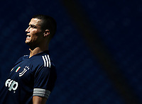 Football, Serie A: S.S. Lazio - Juventus Olympic stadium, Rome, November 8, 2020. <br /> Juventus' Cristiano Ronaldo during the Italian Serie A football match between Lazio and Juventus at Olympic stadium in Rome, on November 8, 2020.<br /> UPDATE IMAGES PRESS/Isabella Bonotto