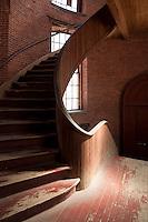 stairway at Atlantic Mills, Olneyville, RI