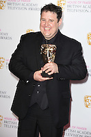 Peter Kaye<br /> in the winners room at the 2016 BAFTA TV Awards, Royal Festival Hall, London<br /> <br /> <br /> ©Ash Knotek  D3115 8/05/2016