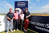 during the ProAm ahead of the 2018 Aberdeen Standard Investments Scottish Open being played at Gullane, East Lothian from 12th-15th July 2018 : Picture Stuart Adams, www.golftourimages.com: \11/07/2018\