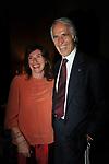 GIOVANNI MALAGO' CON DANIELA MARZANATI<br /> PREMIO GUIDO CARLI - TERZA  EDIZIONE<br /> PALAZZO DI MONTECITORIO - SALA DELLA LUPA<br /> CON RICEVIMENTO  HOTEL MAJESTIC   ROMA 2012