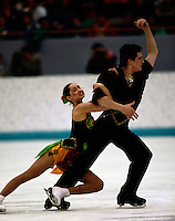 Anjelika Krylova and Vladimir Federov Russia-1994 Olympics Lillehamer Norway. Photo copyright Scott Grant.