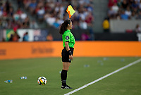 Carson, CA - Thursday August 03, 2017: AR during a 2017 Tournament of Nations match between the women's national teams of the United States (USA) and Japan (JAP) at StubHub Center.