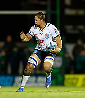 1st October 2021;  The Sportsground, Galway, Ireland; United Rugby Championships, Connacht versus Bulls; Arno Botha on an attacking run for Bulls