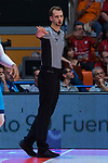 Referee Jordi Aliaga during Montakit Fuenlabrada vs Movistar Estudiantes game of journey three of Liga Endesa . October 06, 2019. (ALTERPHOTOS/Francis Gonzalez)