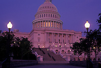 AJ4222, U.S. Capitol, Washington, DC, District of Columbia, capitol, capital city, The United States Capitol Building is illuminated at night in the nations capital Washington, D.C.
