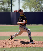 Cullen Dana - San Diego Padres 2021 extended spring training (Bill Mitchell)