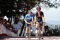 4th September 2021; Sanxenxo to Castro De Herville De Mos, Pontevedra, Spain; stage 20 of Vuelta a Espanya cycling tour;  IneGrenadiers 2021, Movistar Yates, Adam Mas, Enric Castro De Herville De Mos