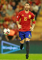 Spain's Sergio Ramos during FIFA World Cup 2018 Qualifying Round match. October 6,2017.(ALTERPHOTOS/Acero) /NortePhoto.com /NortePhoto.com