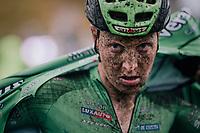 Tim Merlier (BEL/Crelan-Charles) post-finish<br /> <br /> men's race<br /> Soudal Jaarmarktcross Niel 2018 (BEL)