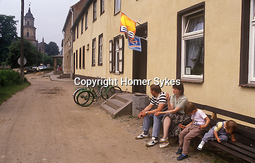 Boitzenburg East Germany. 1990.
