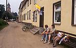 Boitzenburg East Germany. 1990.