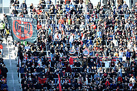 WASHINGTON, DC - MARCH 07: D.C. Untied fans during the game during a game between Inter Miami CF and D.C. United at Audi Field on March 07, 2020 in Washington, DC.